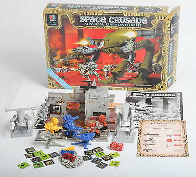 Space Crusade Mission Dreadnought Expansion Pack