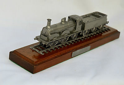 "Danbury Mint Pewter Locomotive - 1882 LBSCR 0-4-2 Steam Locomotive ""GLADSTONE"""