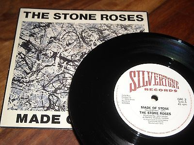"The Stone Roses vinyl 7"" Made of Stone b/w Going Down ORE2 cleaned test played"