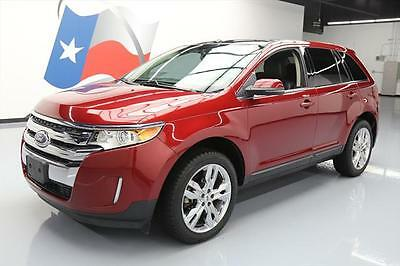 2013 Ford Edge Limited Sport Utility 4-Door 2013 FORD EDGE LIMITED PANO ROOF NAV REAR CAM 20'S 71K #B01372 Texas Direct Auto