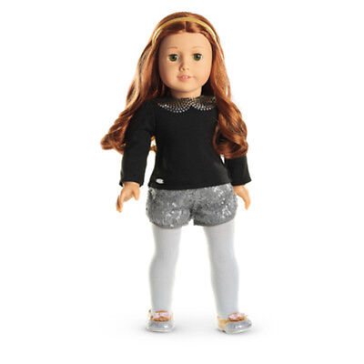 """American Girl TRULY ME SPARKLE SPOTLIGHT OUTFIT for 18"""" Dolls Clothes Shoes NEW"""