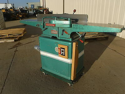 Powermatic Jointer Model 60 Westinghouse Motor 1HP 3Ph 3450 RPM 60Hz 200V
