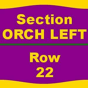 2 TICKETS 1/28/17 Kinky Boots San Jose Center For The Performing Arts