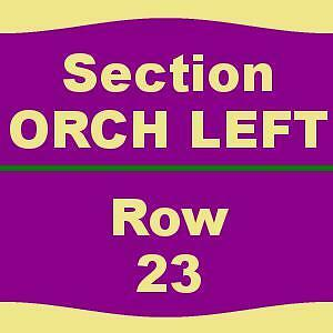 1-6 TICKETS 1/28/17 Kinky Boots San Jose Center For The Performing Arts