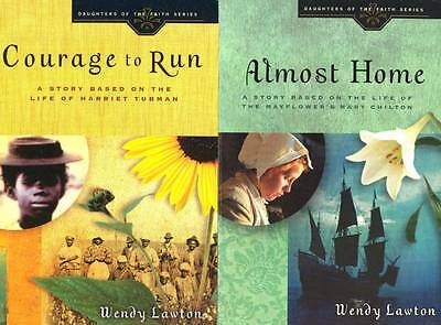 Daughters Of The Faith Wendy Lawton 2 Books Harriet Tubman & Mary Chilton