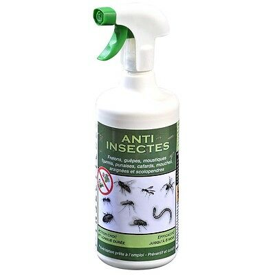 Spray anti insectes 2 en 1