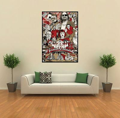 The Big Lebowski Movie Film New Giant Large Art Print Poster Picture Wall G399