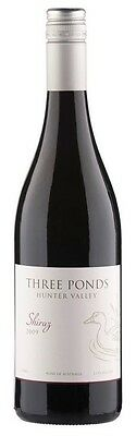 Three Ponds Shiraz 2010 (12 x 750mL), Hunter Valley, NSW.