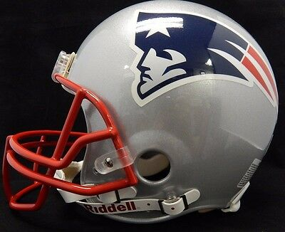 New England Patriots Authentic Riddell Full Size Helmet