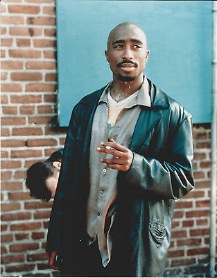 Tupac Shakur 8 X 10 Photo With Ultra Pro Toploader