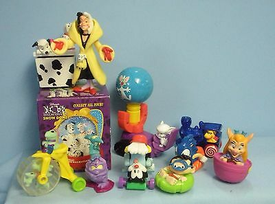 McDonald's Happy Meal Toys Asst . 10 pcs . Dalmations . Back to the Future . Etc
