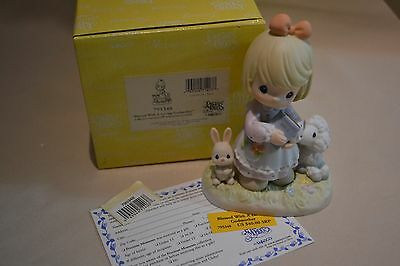 Nib 2000 Precious Moments Blessed With A Loving Godmother 795348