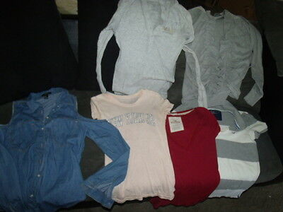 lot of 6 NAME BRAND shirt abercrombie hollister american eagle forever 21 alloy