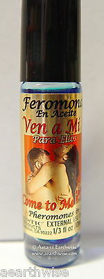 COME TO ME FOR HIM PHEROMONES PERFUME 10mls ROLL ON Wicca Witch Pagan Spell
