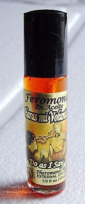 DO AS I SAY  PHEROMONES IN OIL PERFUME 10mls ROLL ON Wicca Witch Pagan Spell