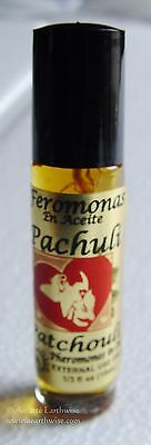 PATCHOULI PHEROMONES IN OIL PERFUME 10mls ROLL ON Wicca Witch Pagan Spell