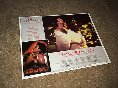 HARD TO HOLD Lobby Card Movie Poster 1984 Rick Springfield Rock & Roll #3