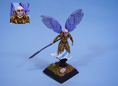 Confrontation painted miniature Angel (30 day listing)