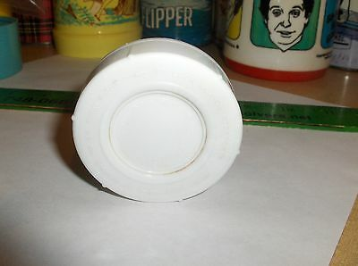White Plastic-Aladdin,Thermos Stopper-Lox 30`Fits Wild Wild West & 60s Thermoses