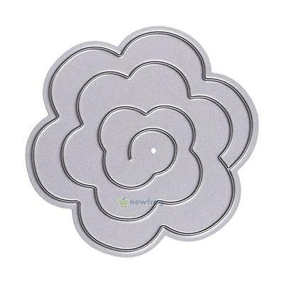 Stencil Stereo Flower paper Cutting Dies template for DIY Scrapbooking/photo NEW