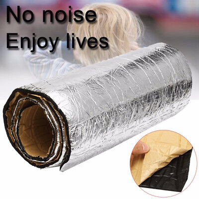 Auto Car Van Sound Proofing Deadening Insulation 10mm Closed Cell Foam 50X100cm