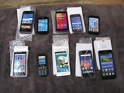 10 Dummy Mixed Mobile Phones - Samsung, Alacatel, HTC, Nokia Microsoft, LG,
