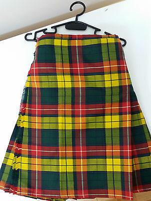 Buchanan 8Yd  Kilt Only Ex Hire £99 A1 Condition Large Stock But Hurry