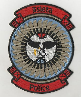 Isleta Pueblo Indian Nation New Mexico Police Patch  tribal nation
