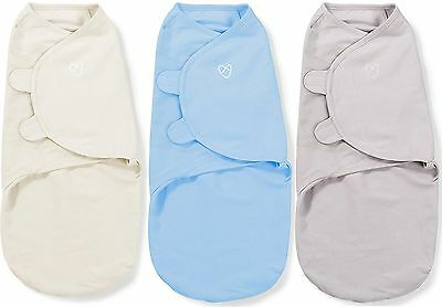 Summer Infant SWADDLEME COTTON KNIT SMALL Baby/Newborn Swaddling Blanket BN