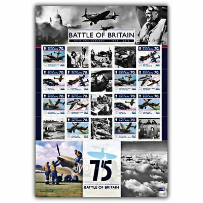 The Battle of Britain 75th Anniversary Commemorative CTO Sheet