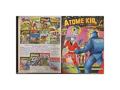 Atome Kid - Artima -  N°  4  02/1957  Be-/be