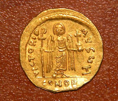OLD BUZANTE GOLD COIN 4.5g, 22mm