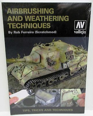 Vallejo - Airbrushing And Weathering Techniques           New             (Book)