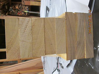 Timber Hardwood Solid  African Yellow Idigbo  Offcuts  Planed 4 Sides