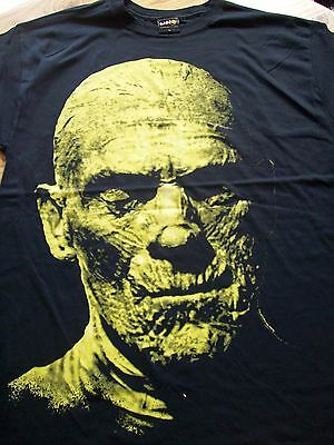 "New,""THE MUMMY"" T-Shirt Size Large.Classic Horror,Boris Karloff.Hammer Horror"