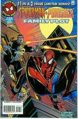 Spiderman / Punisher: Family Plot # 1 (of 2) (USA,1996)