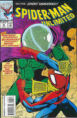 Spiderman Unlimited # 4 (68 pages) (USA, 1994)