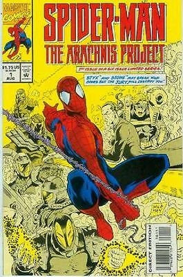 Spiderman: The Arachnis Project # 1 (of 6) (USA, 1994)