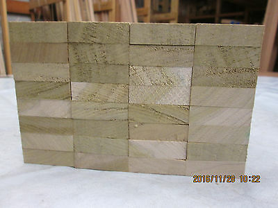 Timber Hardwood American Tulipwood Offcuts  Planed 4 Sides