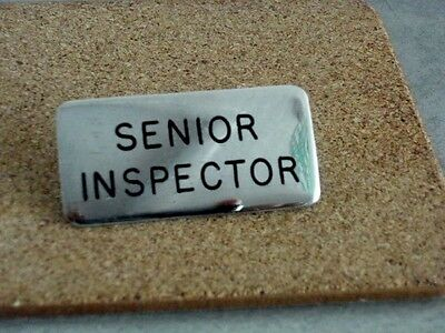Vintage/Collectable Inspectors Badge