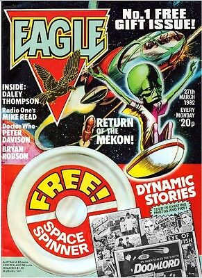 UK COMICS EAGLE 1980s-90s SERIES 470+ ISSUES ON DVD+ ANNUALS & SPECIALS