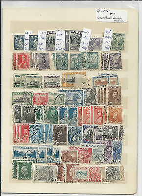 Trade Price Stamps Greece Early Stamps Mint And Used