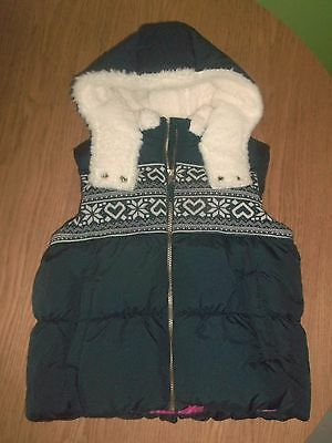 Gorgeous Girls Next Navy & White Body Warmer - Age 9-10