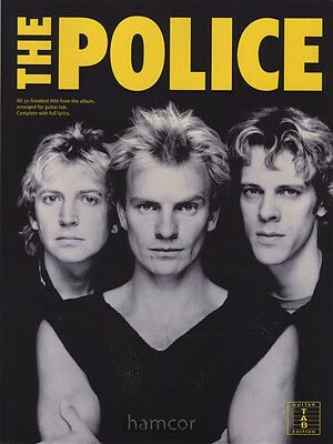The Police 30 Greatest Hits Guitar TAB Edition Music Book Sting