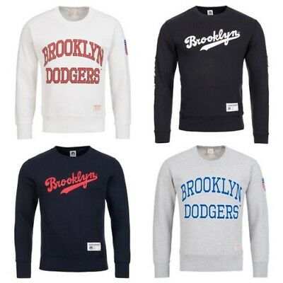 Brooklyn Dodgers Majestic Sweatshirt MLB Baseball Sweat Men's Sweatshirt new