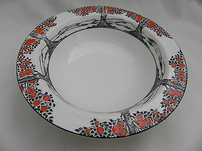 Crown Ducal ORANGE TREE ROUND FRUIT DESSERT DISH BOWL 14.5cm x 3.5cm, (No 7.)