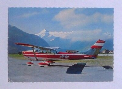 Airline-Issued Postcard / Alpenflug / Cessna 172 / Zell-Am-See Airport