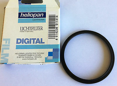 Heliopan Lichtfilter Digital Step up Ring 62mm - 77mm Brand New. Made in Germany