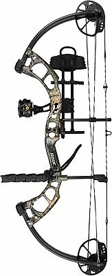 New  Bear Archery Cruzer RTH 5-70# Right Hand Bow Pkg Realtree Xtra Camo