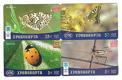 4 Griechenland  Prepaid Calling Cards